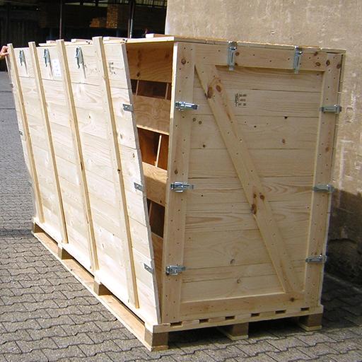Foto einer Holzkiste von Diefenbach Verpackungen