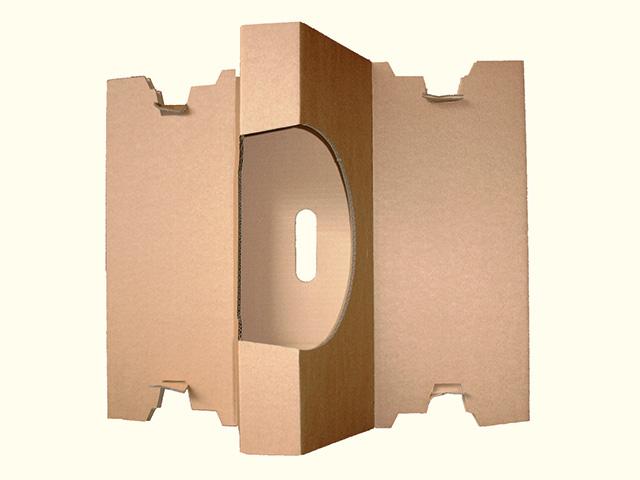 Foto einer Komiverpackung von Diefenbach Verpackungen