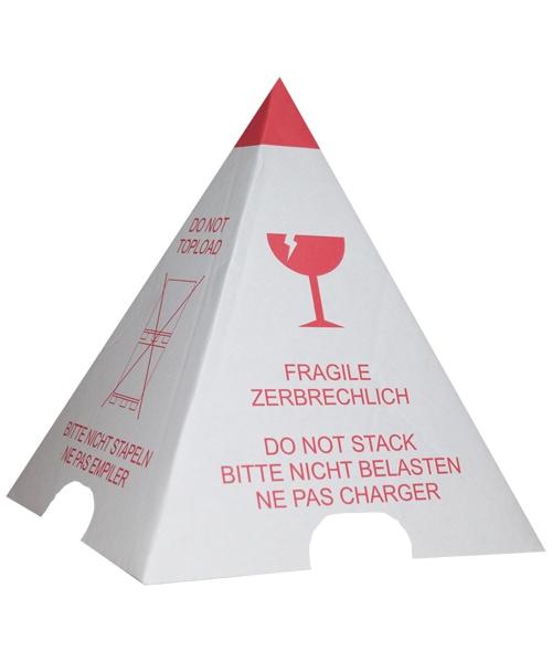 Foto eines Palettenhütchens von Diefenbach Verpackungen